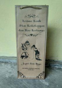 Tas Kertas Pernikahan dan Kantong Kertas Pernikahan