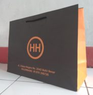 Kantong Kertas Belanjaan (Shopping Bag)