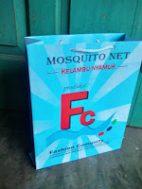 tas kertas kelambu nyamuk