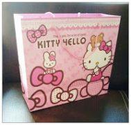 Tas kertas hello kitty semarang