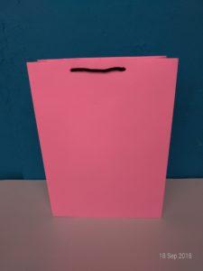 jual tas kertas warna pink